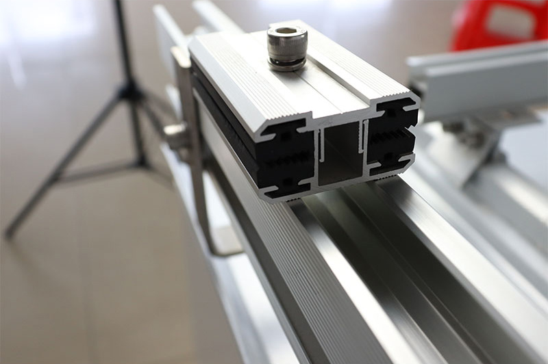 What is the thin film clamp used for photovoltaic bracket panels?